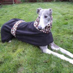 Leopard Print Greyhound Coat