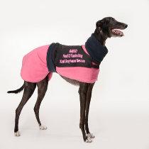 Bingo in pink coat