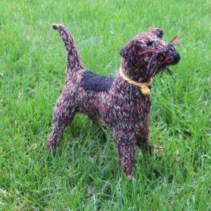Knitted Border Terrier